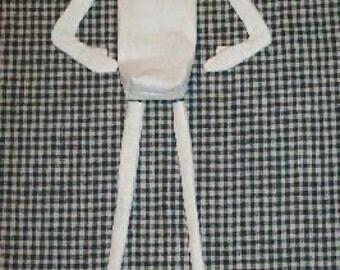 Blank 20 inch Skinny Doll Body
