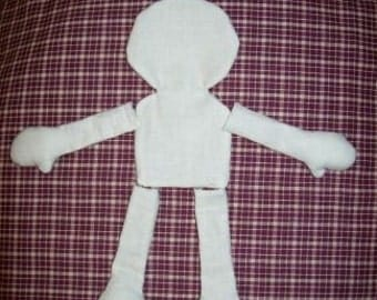 10 Inch Blank Doll Body