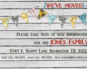 moving notice, new address notice, updating info, housewarming party -- Moving, Moving