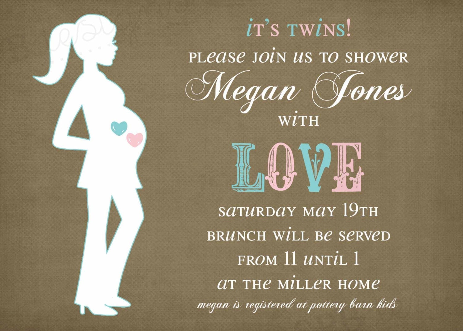 twins baby shower invitation it 39 s twins