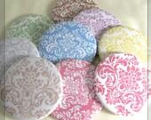 50 Pocket Mirror Bridal Shower Baby Shower Favors - Damask Designs - Bulk Wholesale