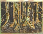 In The Forest - Original Print