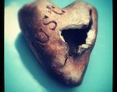 Desire & Lust Ceramic Heart Sculpture