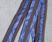 Blue Tie Dyed tScarf