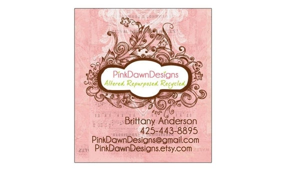 Business card or Hang tag graphic design - plus a round of UNLIMITED complimentary edits - Reserved for customcouturelabelco clients