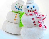 Holiday Candy Cane Snowman Bubble Bar 6.25 ounces...perfect with a cup of Hot Chocolate...