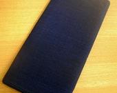 Japanese High-quality Cotton Solid Indigo Fabric (Dark Blue)