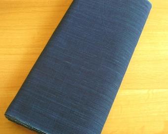 Japanese High-quality Cotton Solid Indigo Fabric (Blue)