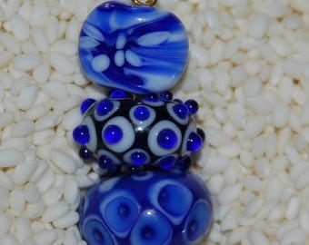 Limited Edition Lampwork Beads, by Hollen Beads