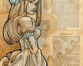 The Iron Woman 9 Original Painting