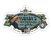 Individual Die Cut Yubaba's Bathhouse sticker (Item 01-057)