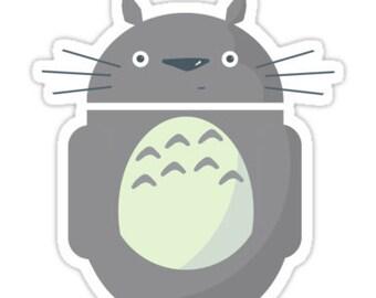 individual die cut Totoroid sticker (Item 01-303)