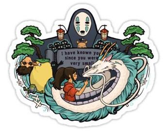 Individual Die Cut Spirit World sticker (Item 01-043)