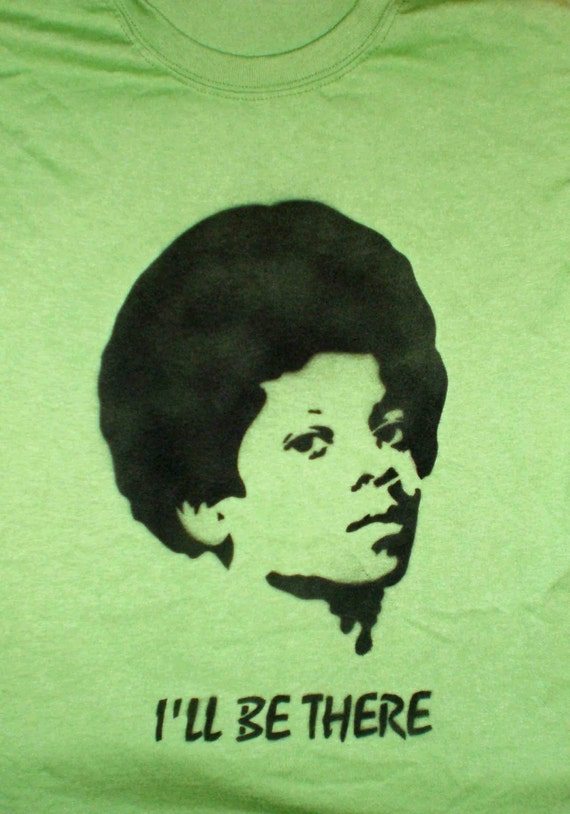 Michael Jackson Spray Painted Shirt