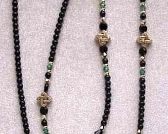 Celtic Knot Eyeglass Chain