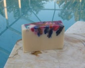 Psychedelic Patchouli Cold Process Soap Vegan 5 oz Made With Dark Patchouli Essential Oil