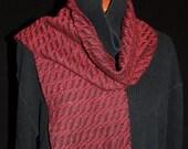merino\/silk handwoven scarf