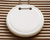 Porcelain Coin Necklace