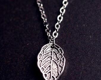 LIttlest Leaf Necklace