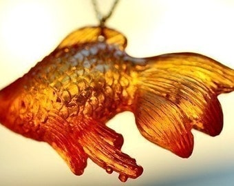 The Chubby Koi Necklace -- sale