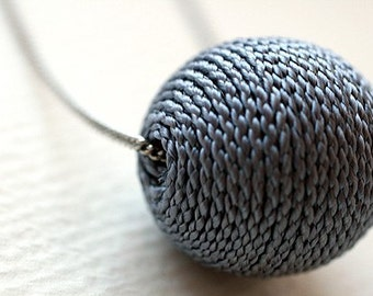 Yarnball Necklace