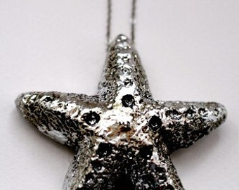 Starfish - Necklace or Brooch
