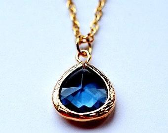 India Blue Necklace - sale