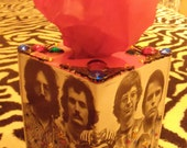 The Grateful Dead TISSUE BOX HOLDER Cool Stuff Made From Records