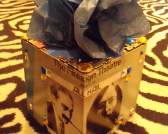The Firesign Theatre TISSUE BOX HOLDER Cool Stuff Made From Records