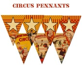 Vintage Circus Images Party Pack