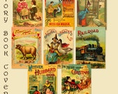 Story Book Covers - Print a banner - Print Gift Tags