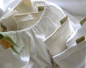 Eco Friendly Dryer Sachets Bakers Dozen Sheet  Alternative Pillow Recycled 100% from tShirt material Organic Lavender