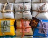 Lavender Pillow Sachet DOZEN Mixed Sets Dryer Sheet Sachets each a SET of THREE