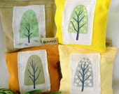 Reusable Dryer Sheets upcycled pillow sachets Set of Four
