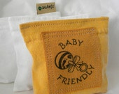 Baby Friendly Patch Lavender Sachet Dryer Pillow Sheets Alternative Organic Upcycled from tShirt Material SET of THREE