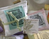 Dryer Sachet Sheet Alternative Pillows Recycled Material Organic Lavender Twelve Sets of Two