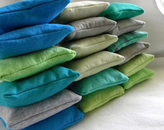 Laundry pillows for the Dryer lavender filled Sachet Sheet Alternative SET of THREE 100% upcycled from tShirt materials