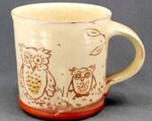 Owl and Owlet Mug