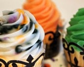 Halloween Cupcake Soap