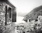 The Hideaway -Vintage Cinque Terra, Italy 16x20 Orig. Photo