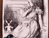 Alice in Wonderland -- Decorative Mouse Pad Mousepad for Home or Office