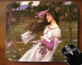 J.W. Waterhouse 'Windflowers' 1903 - Decorative Mouse Pad Mousepad for Home or Office