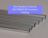 CLEARANCE ALUMINUM Custom Big Hole Beads (PxndrxSize) Tubing SIX Pack