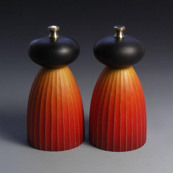 Orange and Black Mills (short) MADE TO ORDER