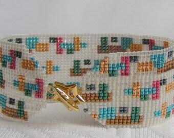 Geometric Two bracelet