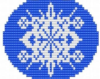 Ornament Snowflake, pattern