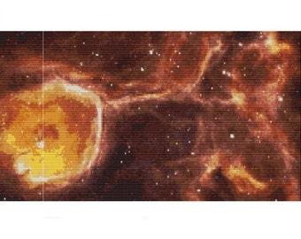 Celestial Geode , pattern for loom or peyote