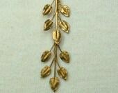 Double Vintage Leaf earrings e11