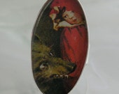 Little Red Riding Hood Resin Ring