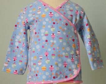 SALE - Sweet Treats Kimono top - 12m - Ready to Ship